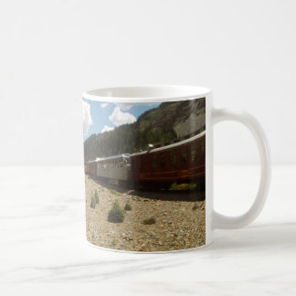 Tasse de montagne de train du Colorado Durango