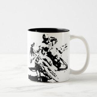Tasse de motocross