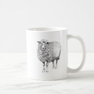 Tasse de moutons