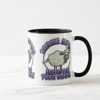 tasse de moutons de zombi