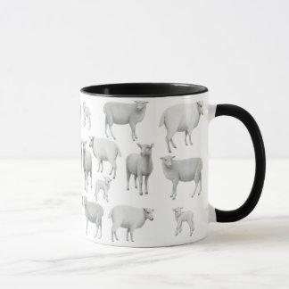 Tasse de moutons noirs