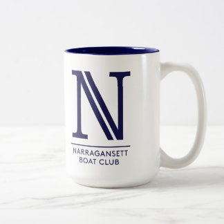 Tasse de NBC avec la crête et le logo de N