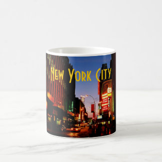 Tasse de New York City (Broadway) - customisée