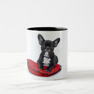 Tasse de Noël de Boston Terrier