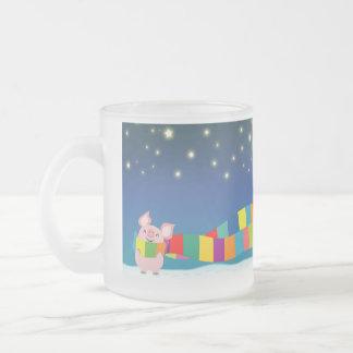 Tasse de Noël du petit porc