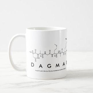 Tasse de nom de peptide de Dagmar