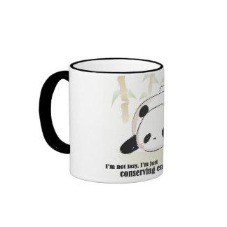 Tasse de panda de sommeil