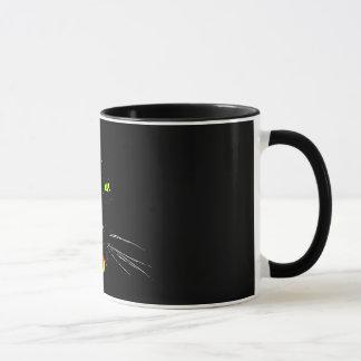 Tasse de panthère noire