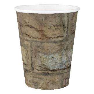 Tasse de papier de brique, 9 onces gobelets en papier