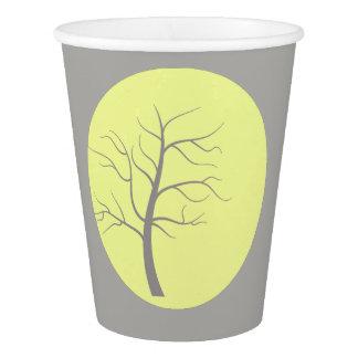 Tasse de papier de partie géniale ensoleillée gobelets en papier