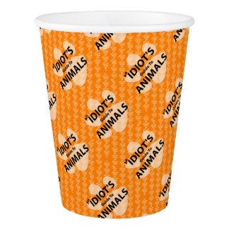 Tasse de papier Podcast par AIGTA de logo orange Gobelets En Papier