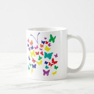 Tasse de papillon d'autisme