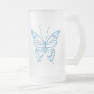 Tasse de papillon de myrtille. !