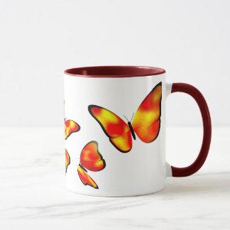 Tasse de papillon de phaéton