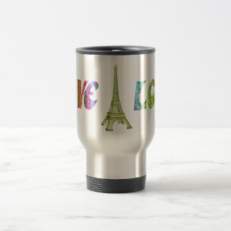 Tasse de ParisTravel d'amour