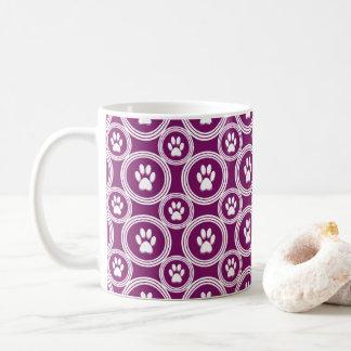 Tasse de Patte-pour-Café (prune)