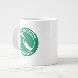 Tasse de pause-café de paresse