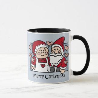 Tasse de Père Noël de Joyeux Noël