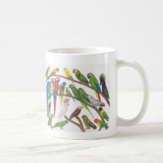 tasse de perroquets