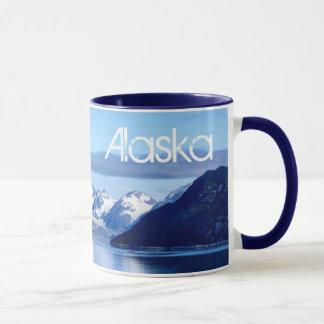 Tasse de photo de baie de glacier