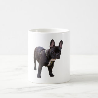 Tasse de photo de chien de bouledogue français