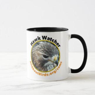 Tasse de photo d'Ezra d'observateur de faucon