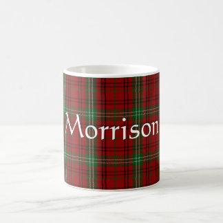 Tasse de plaid de tartan de clan de Morrison
