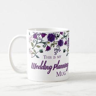 Tasse de planification de mariage, tasse de cadeau