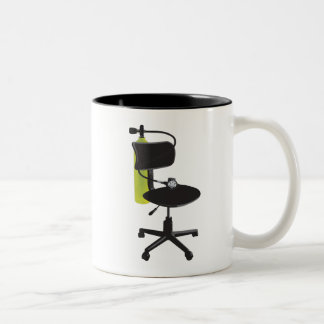 Tasse de plongeur de bureau