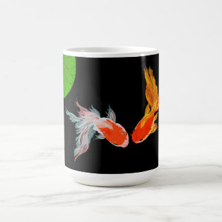 Tasse de poisson rouge