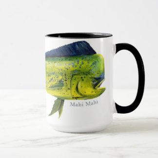 Tasse de poissons de Mahi Mahi