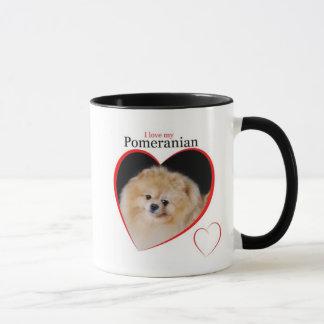 Tasse de Pomeranian