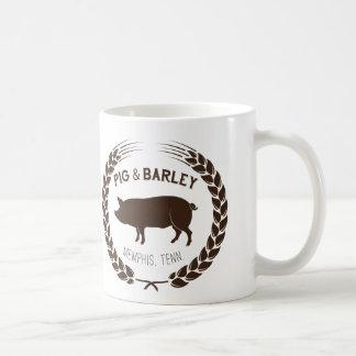 Tasse de porc et d'orge