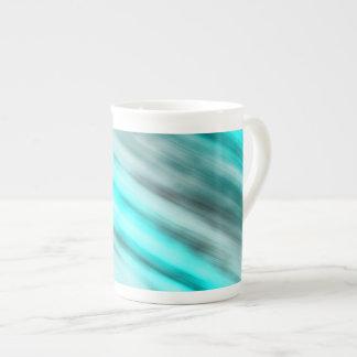 Tasse de porcelaine tendre, art abstrait,