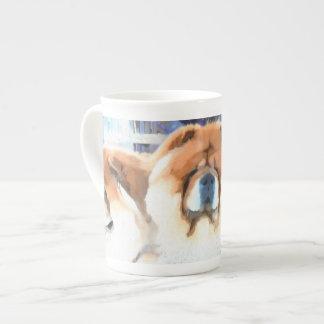 Tasse de porcelaine tendre de heARTdog d'OCCASION
