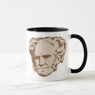 Tasse de portrait de Schopenhauer