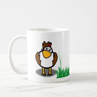tasse de poule de coq