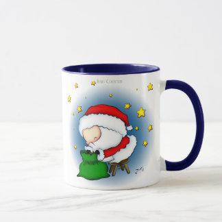 Tasse de présents de Père Noël