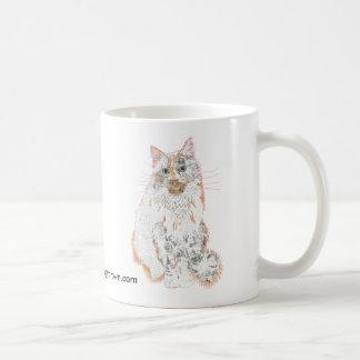 Tasse de prince Robin Cat Collage