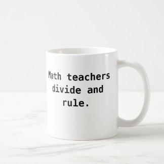 Tasse de professeur de maths - calembour drôle de
