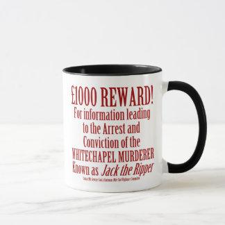 Tasse de récompense de Jack the Ripper