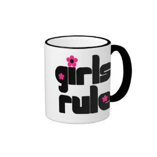 Tasse de règle de filles