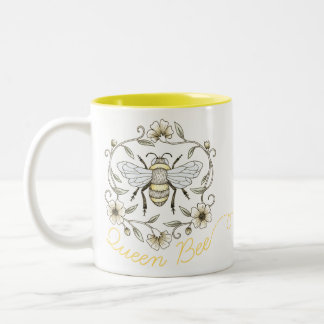 Tasse de reine des abeilles