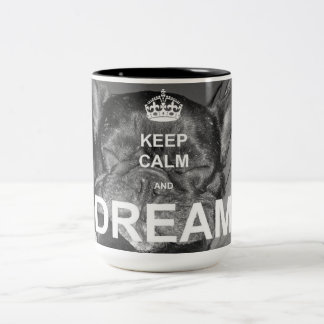 Tasse de rêve de bouledogue français