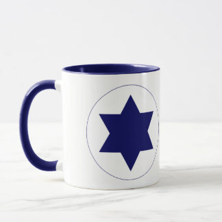 Tasse de rondeau de l'Armée de l'Air de l'Israël