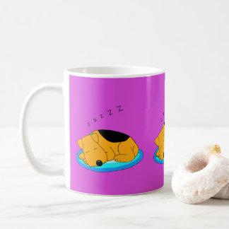 Tasse de ronflement douce de chien d'Airedale