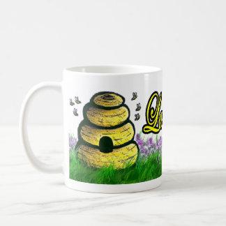 Tasse de ruche d'abeille