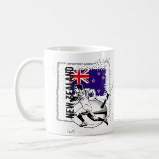 Tasse de rugby de la Nouvelle Zélande