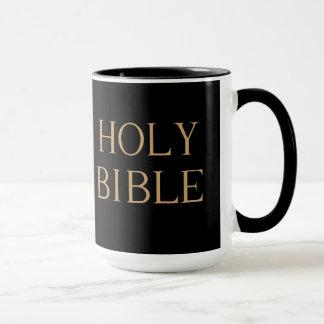 """Tasse de """"Sainte Bible"""""""