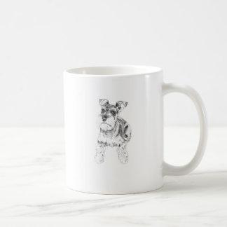 Tasse de Schnauzer miniature